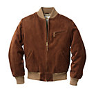 Golden Bear Velours-Lederblouson