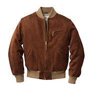 Golden Bear Velours-Lederblouson | Jacken