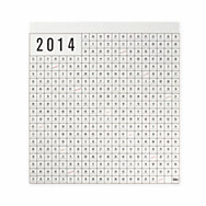 Wandkalender Perforated 2014  | Magazin