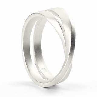 Möbius-Ring Silber | Accessoires